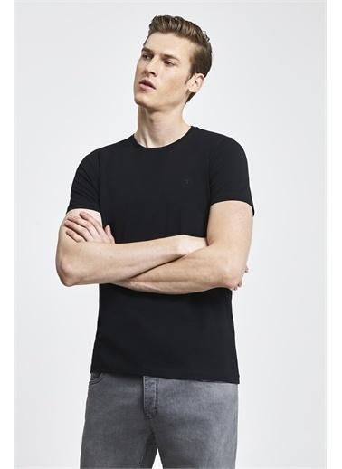 Tween Baskılı T-Shirt Siyah